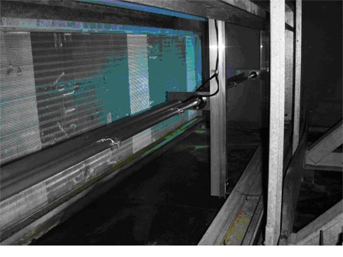 U V Lamp Installation Photos Rhodes Performance Maintenance